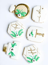 Load image into Gallery viewer, Wedding Cookie set- Wedding Cookie gift, customize your own initials