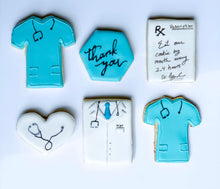 Load image into Gallery viewer, Nurse Appreciation Medical Appreciation Healthcare cookie set