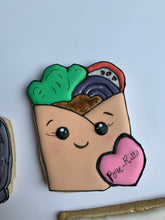 Load image into Gallery viewer, Taco Cookies - Taco party sugar cookies - fun mexican themed party favor gift set cookies