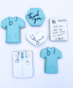 Nurse Appreciation Medical Appreciation Healthcare cookie set