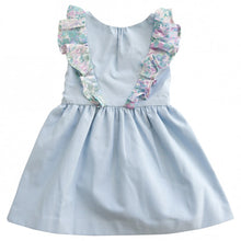 Load image into Gallery viewer, ANNA RUFFLE DRESS (Chambray)