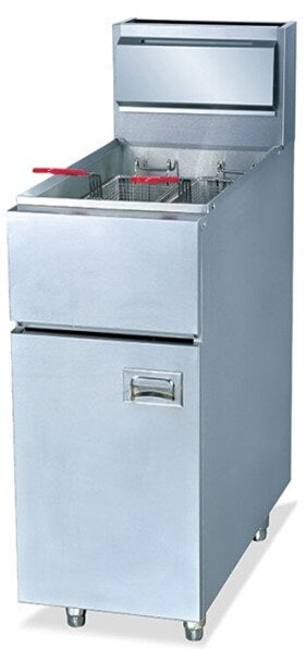 28LT GAS FLOOR STANDING FRYER INCLUDES BASKETS - cater-care
