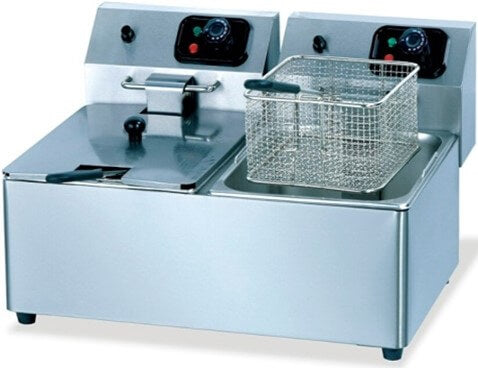 FRYER TABLE MODEL 2X8LT ELECTRIC - cater-care
