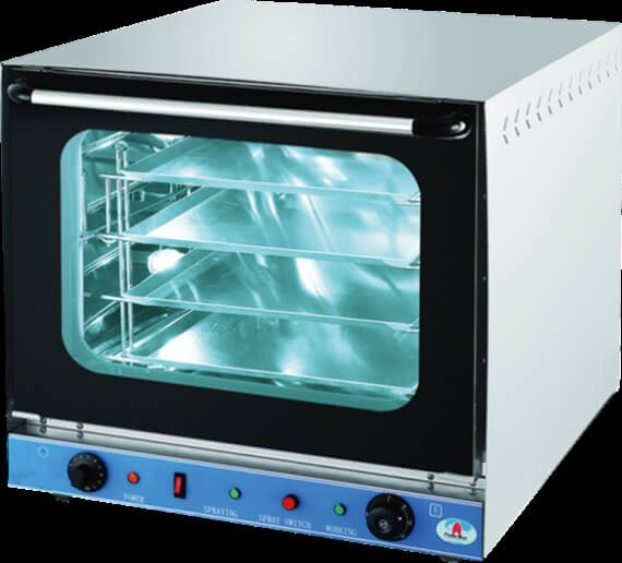 CONVECTION OVEN  4 PAN ( PAN 318X 440) TABLE TOP UNIT - cater-care