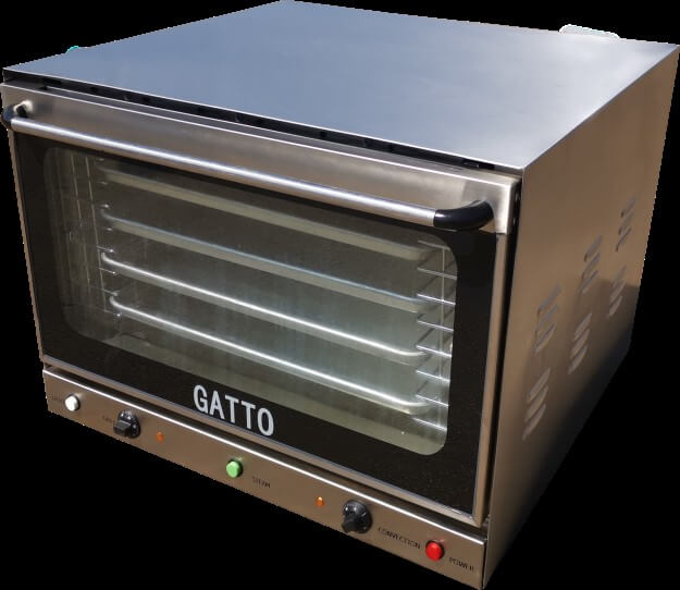 CONVECTION OVEN 4 PAN (PAN 600 X 400)STEAM TABLE TOP UNIT - cater-care