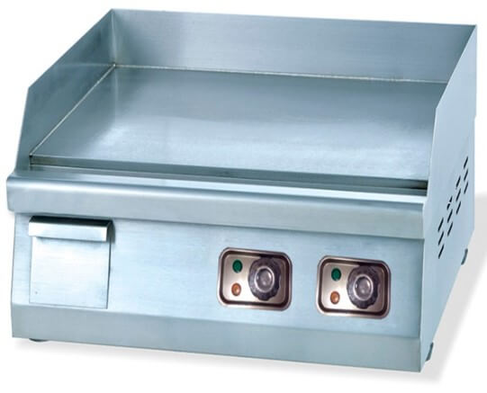GRILLER FLAT TOP - 600MM TABLE TOP ELECTRIC - cater-care