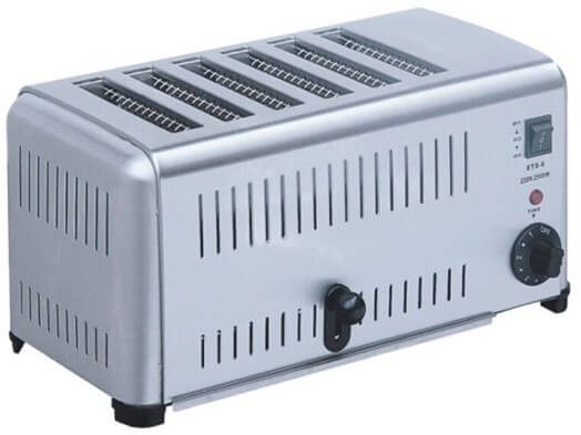 6 SLICE TOASTER - cater-care