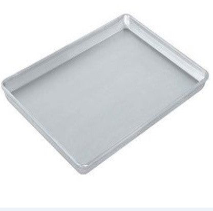 PRESSED ALUMINIZED STEEL BAKING TRAY 600 x 400 x 30mm. - cater-care