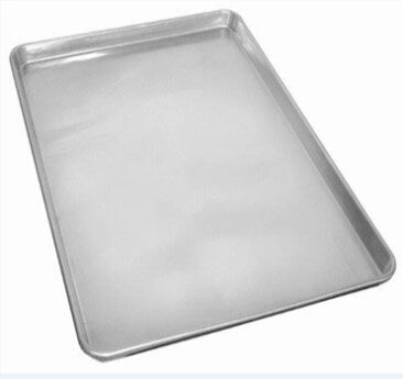 PRESSED ALUMINIZED STEEL BAKING TRAY 400 X 600 X 50MM - cater-care