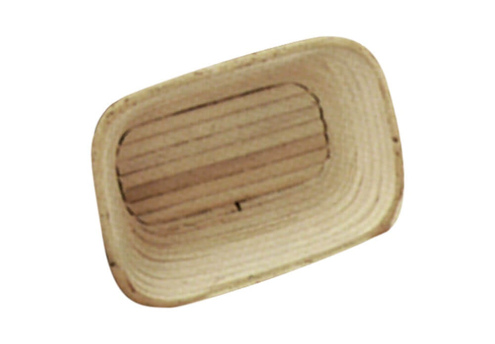 BANNETON PROOFING BASKET RECTANGULAR - 80 x 140 x 70mm - cater-care