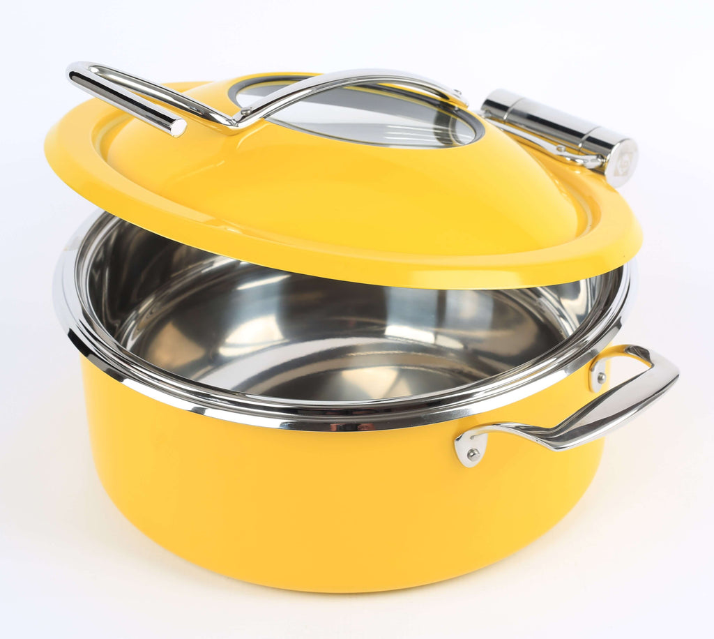BUFFET POT  YELLOW   INDUCTION - Cater-Care