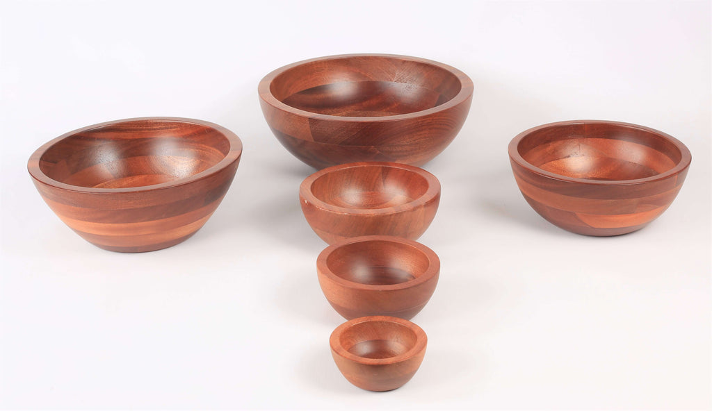 BOWL  WOODEN SERVER - cater-care