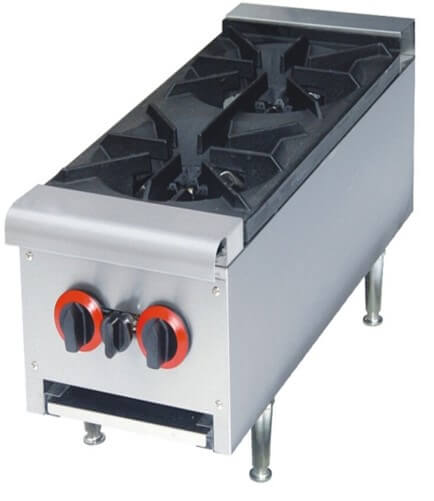 BOILING TABLE 2 BURNER FLOOR MODEL - cater-care