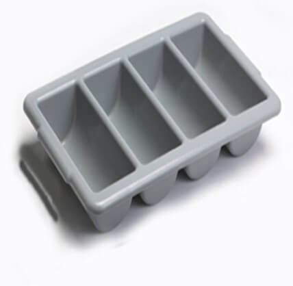 CUTLERY BOXES GREY - cater-care