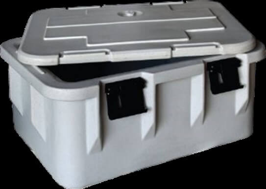 GREY COOLER BOX - cater-care