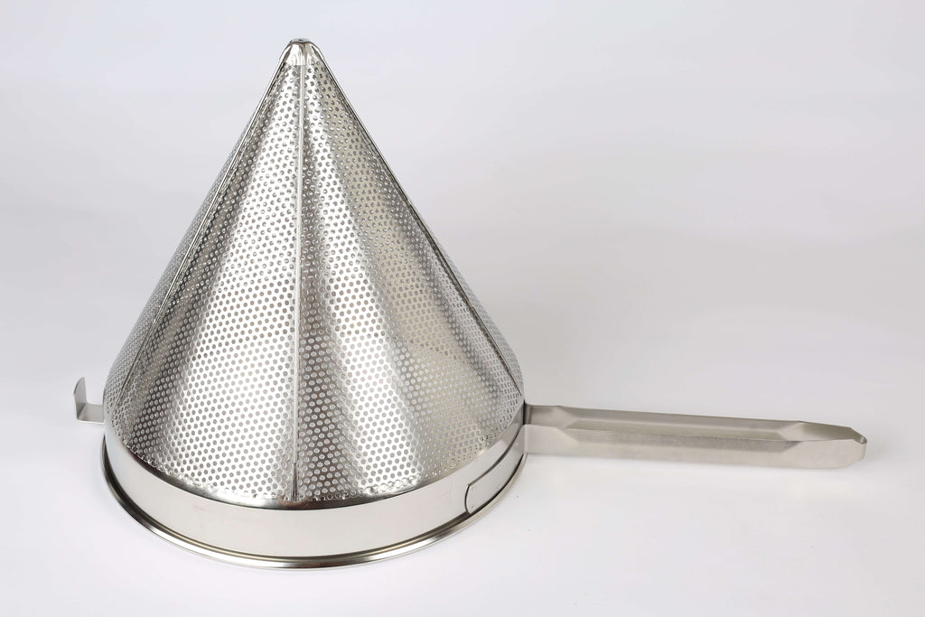 CONICAL STRAINER S/STEEL - 310MM - cater-care