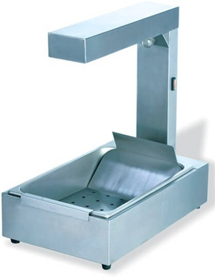 CHIP DUMP, COUNTER TOP LARGE ELECTRIC - cater-care