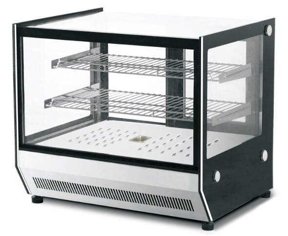 COUNTER TOP HEATED DISPLAY 660 X 530 X 730MM (SQUARE) - cater-care