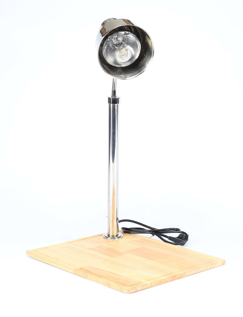 DISPLAY   CARVERY LIGHT ON WOODEN BASE - cater-care