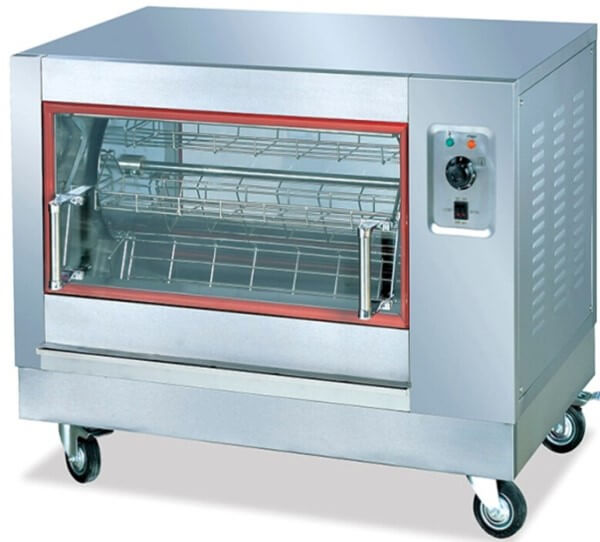 CHICKEN ROTISSERIE ELECTRIC 4 BASKET 12 CHICKENS - cater-care