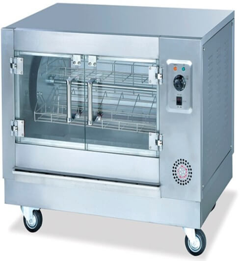 CHICKEN ROTISSERIE ELECTRIC 4 BASKET 8 CHICKENS - cater-care