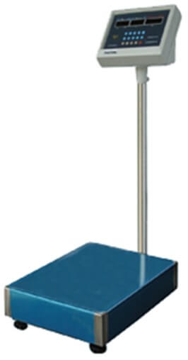 ELECTRONIC PLATFORM SCALE - 150KG - cater-care