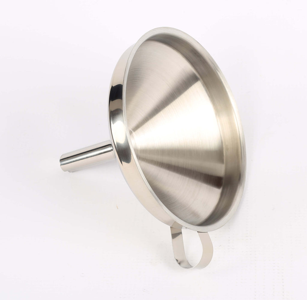 FUNNEL S/STEEL ROUND - 150MM - cater-care