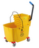 Plastic Bucket & Wringer- (Yellow) 32Lt