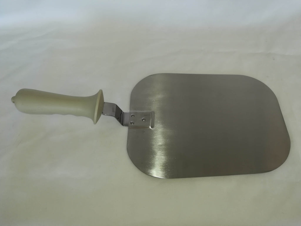 PIZZA SHOVEL S/STEEL PLASTIC HANDLE  SQUARE HEAD 420mm - cater-care