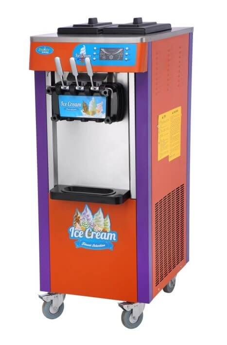 ICE CREAM MACHINE FLOOR MODEL- 2 FLAV- 1 MIX - cater-care