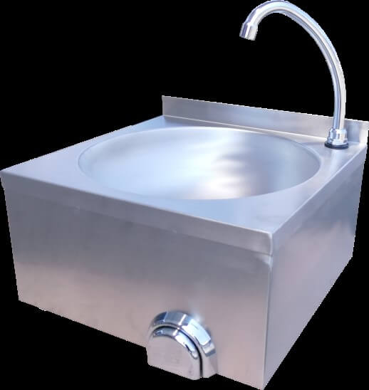 KNEE OPERATED WASH HAND BASIN - cater-care