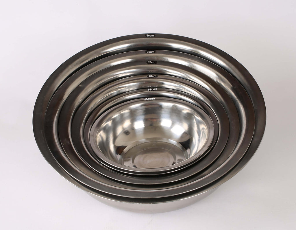 MIXING BOWL S/STEEL ROUND - Cater-Care
