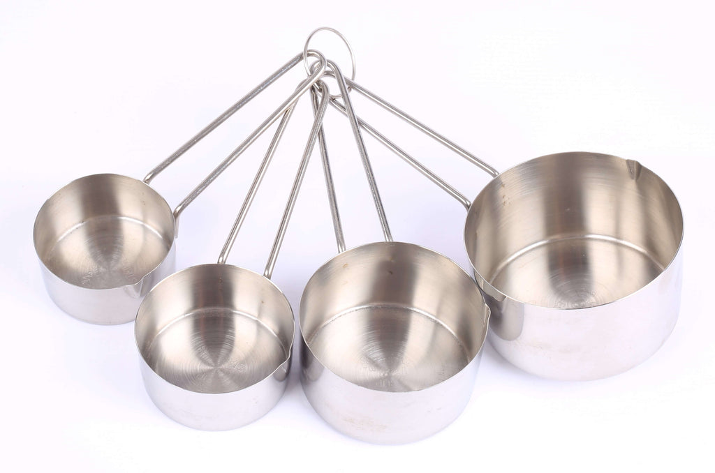 MEASURING CUP SET - S/STEEL - 4 PIECE - cater-care