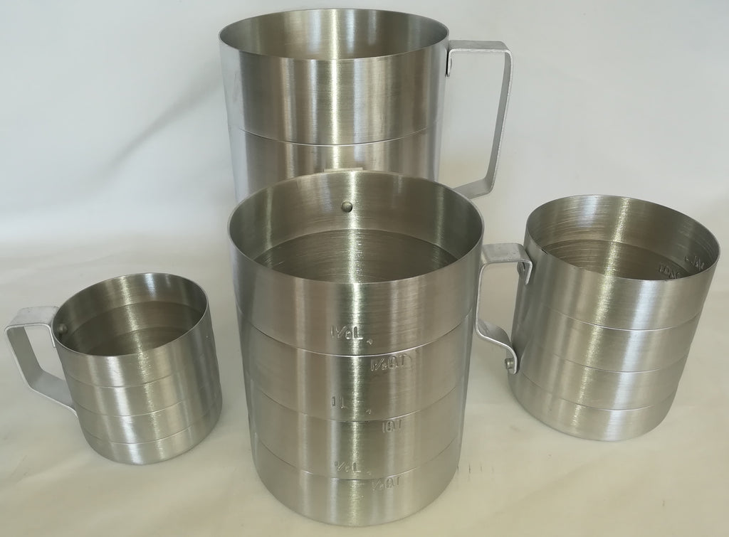 MEASURING JUG ALUMINIUM - cater-care