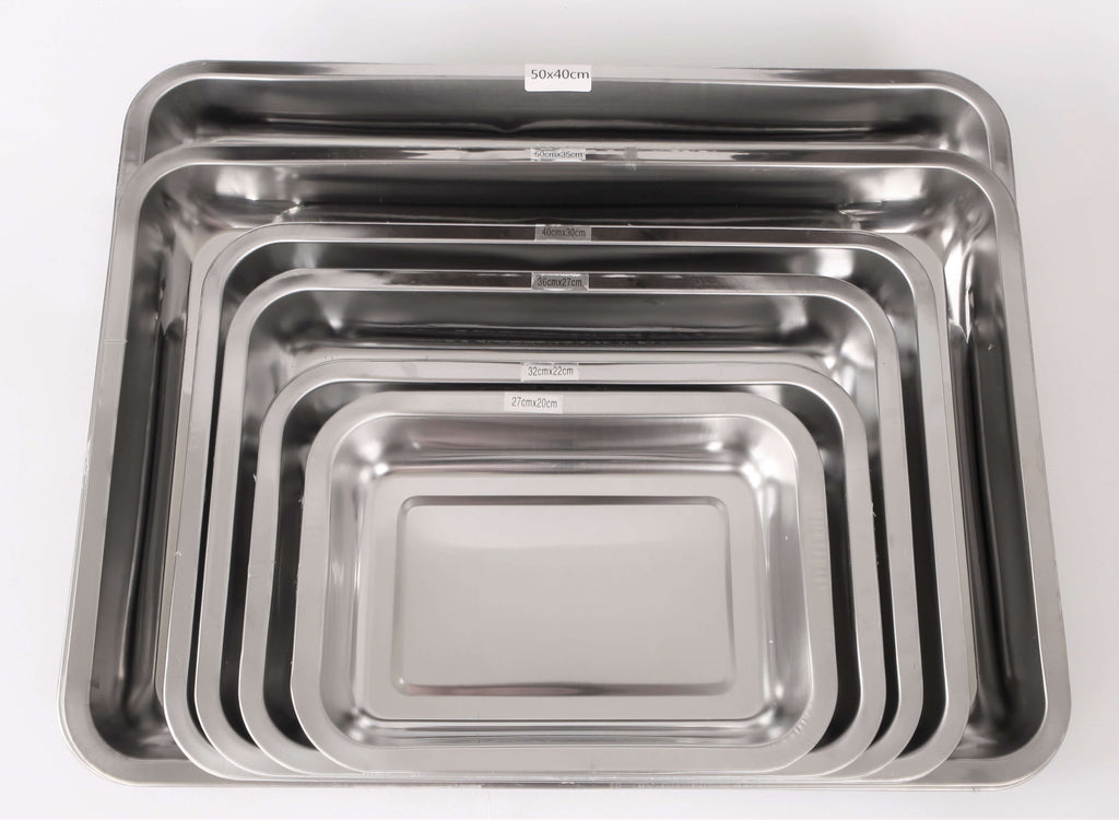 RECTANGULAR S/STEEL DISH - cater-care