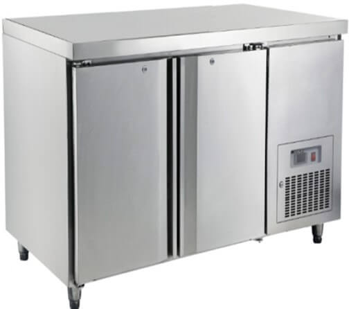 1360 S/STEEL UNDERCOUNTER REFRIGERATOR - cater-care