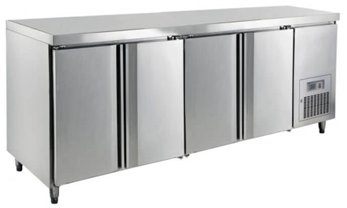 2240 S/STEEL UNDERCOUNTER REFRIGERATOR - cater-care