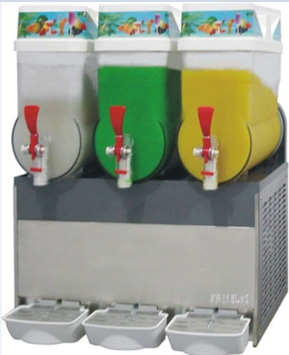 SLUSH MACHINE 3 TANKS- 12LT - cater-care