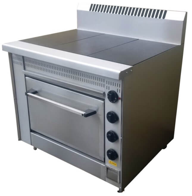 SOLID TOP 3 PLATE STOVE - cater-care