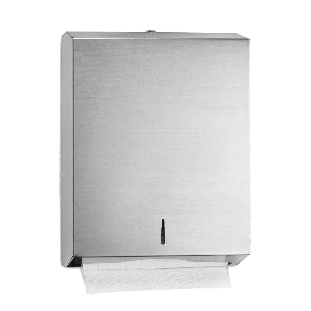 WALL MOUNTED FOLDED PAPER TOWEL DISPENSER