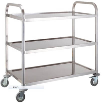 3 TIER TEA TROLLEY - cater-care