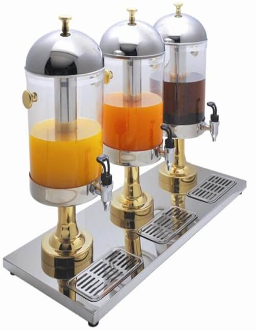 JUICE DISPENSER TRIPLE - cater-care