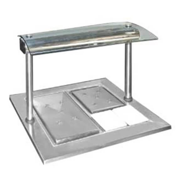 CARVERY UNIT TWO PLATE - cater-care