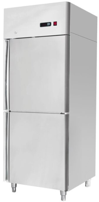 730X845X2130 S/STEEL UPRIGHT FREEZER GN 2 X 1/2 DOOR - cater-care