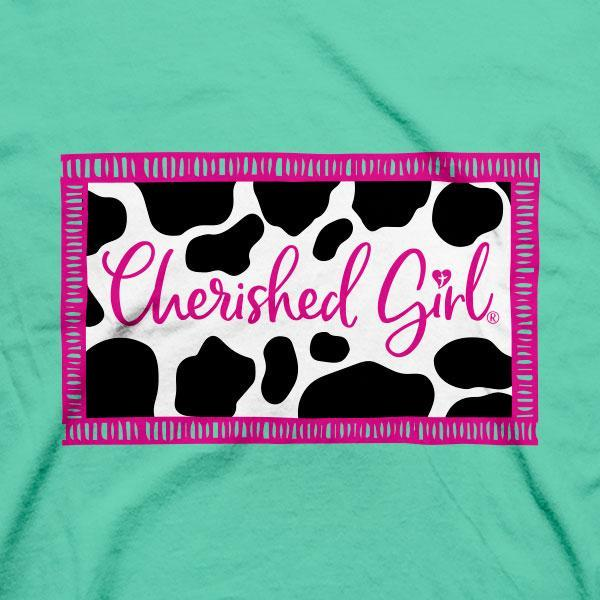 """Moo"" Womens T-Shirt by Cherished Girl"