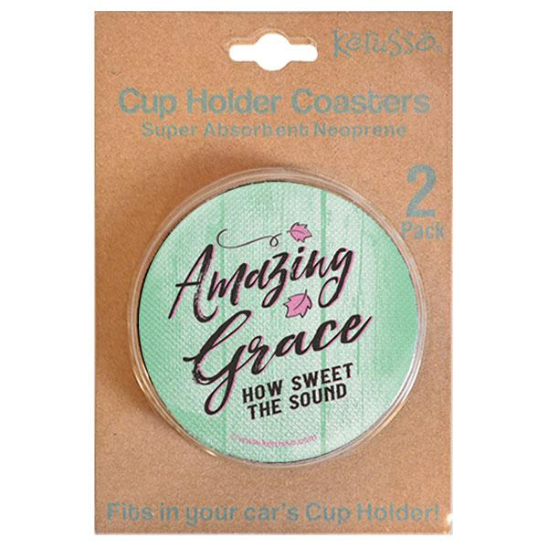 """Amazing Grace"" Unisex Coaster by Kerusso"