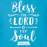 """Bless The Lord"" Womens T-Shirt by grace & truth"