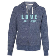"""Love Like Jesus"" Womens Hoody by grace & truth"