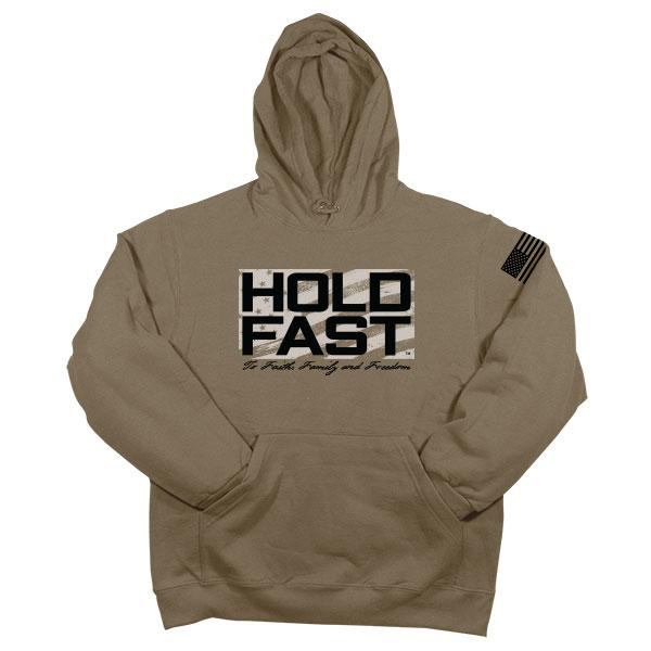 """Hold Fast Logo"" Mens Hooded Sweatshirt by HOLD FAST"