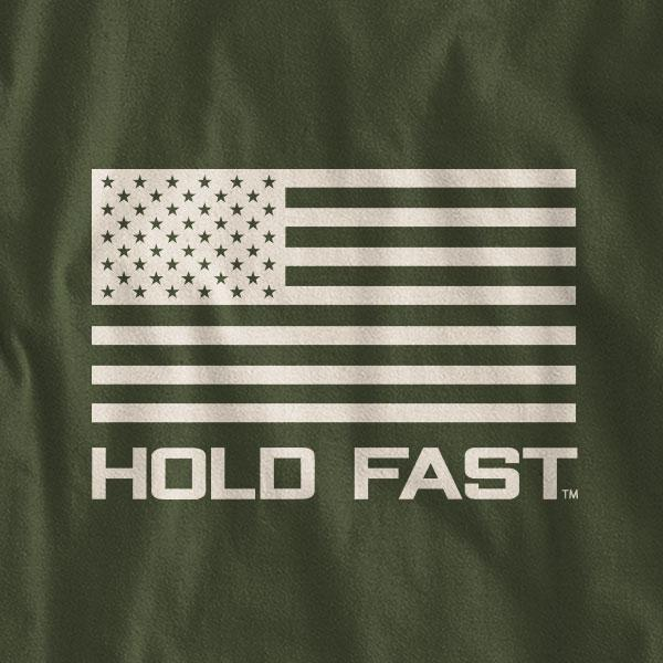 """Iron Sharpens Iron"" Mens T-Shirt by HOLD FAST"